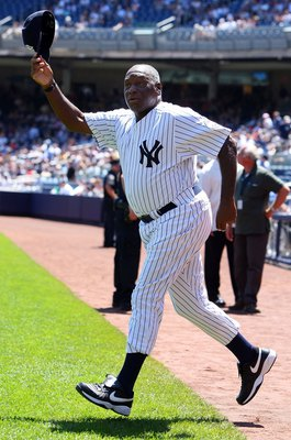 Al Downing on Old-Timers Day