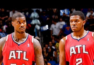 Speaking with thesportscapital.net Joe Johnson (2) enjoyed sharing shine with Jamal Crawford in the Atlanta back court while Marvin Williams (24) spoke about how a lot of kids including himself looked up to Jamal Crawford growing up in Seattle.