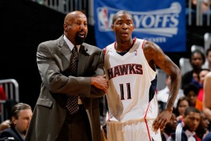 Before Mike Woodson became head coach of the New York Knicks he held the same position with the Atlanta Hawks for six seasons.  With Atlanta the coach used Crawford very similarly to the way he now uses 2013 six man of the year J.R. Smith.