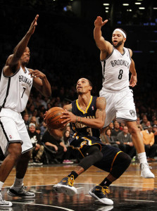 At 2-4 Brooklyn is in last place in the Eastern Conference in the early season standings.  Their backcourt of Joe Johnson and Deron Williams were voices of calm and urgency in the Brooklyn post game locker room.