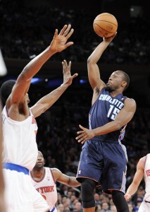 Charlotte Bobcats point guard Kemba Walker felt right at home against the Knicks and he should because he has been doing work on the Garden floor since he was a teen.