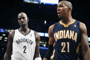 Kevin Garnett and David West always make for a heavyweight match up at the power forward position.  David West spoke with us and felt good after the game.  K.G. was not seen or heard from after the contest.