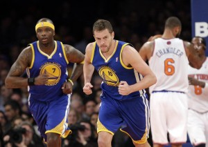 In 24 minutes David Lee scored 10 points to go along with six rebounds, two steals, and one blocked shot on Friday night in his return to the Garden after missing the chance to play back where his career started last season in what was his only All-Star appearance since the Knicks let him leave in the summer of 2010.