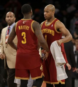Without the services of all-star MVP Cleveland guards Dion Waiters and Jarret Jack still devastated the Knicks and their playoff hopes.
