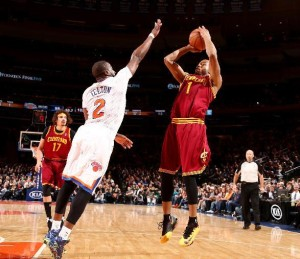 Cavaliers guard Jarret Jack has been a Knicks killer over the years and picked up where he left off Sunday night destroying the Knicks making 6 of 7 shots in the decisive 4th quarter.