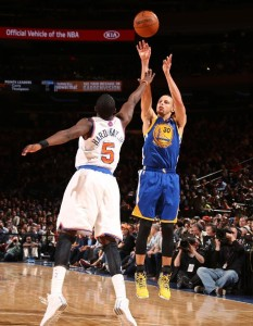 Steph Curry says Madison Square Garden is a special place to play and it is like no other