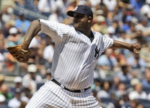 C.C. Sabathia says the fact that there were 67 African-American ball players in the Major Leagues on the 67 year anniversary of Jackie Robinson breaking the color barrier is discouraging.