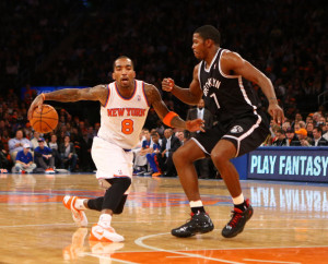When J.R. plays bad the Knicks play bad. When J.R. plays good the Knicks play good.