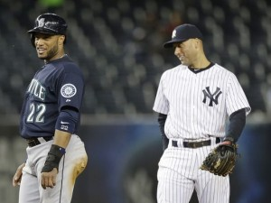 These two guys used to be the double play combination in New York for so long.
