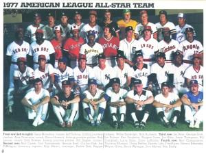 1977 American League all-star team