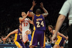 Jeremy Lin put it on Kobe and the Lakers so bad that night that the black Mama gave Lin his respect after the game.