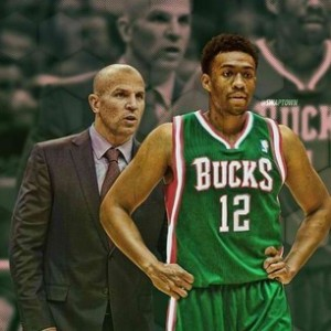 Jason Kidd and Jabari Parker photo