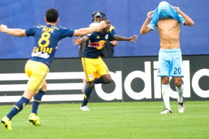 After jumping out to a quick 1-0 lead NYC FC was not able to stop the Red Bull machine as they scored 3 unanswered goals to end the game.