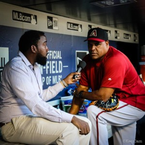 Mike Harkey was a part of Joe Girardi's coaching staffs in Florida and in New York before leaving in 2014 to become pitching coach of the Arizona Diamondbacks.