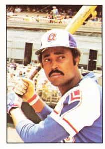 Cito Gaston began his career with the Atlanta Braves where he played under the tutelage of Henry Aaron.