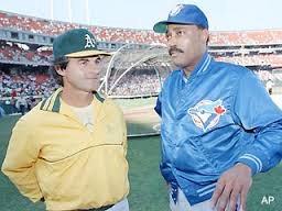 Cito Gaston (Right) Is the only African-American manager to win a World Series when he won it with Toronto in Back to Back years of 1992 & 1993.  When he was let go by Toronto in 1997 It took Gaston more than a decade to get a second oppurtunity to manage a team when Toronto hired him again in 2008.