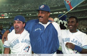 Cito Gaston winning the World Series in 1992.  The first and only African-American manager to do so.