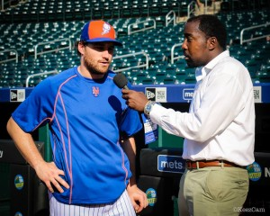 Daniel Murphy has been the longest Tenured active Mets position player this season with David Wright hurt.   Murphy who has been with the  Mets since 2008 feels good about this Mets season to say the least.