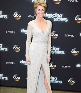 Andrews has been the host of Dancing with the stars since 2014.