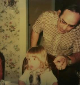 Yogi and granddaughter Lindsay Berra