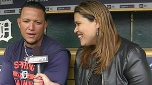Marly here with former AL MVP and future Hall of Famer Miguel Cabrera.
