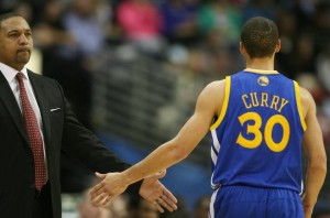 Mark Jackson Steph Curry Photo