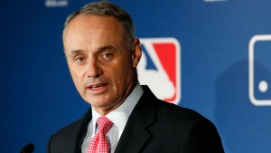 Commissioner Rob Manfred is very clear how important Jackie Robinson Day is and is focused on MLB's efforts to get more blacks back into the sport.